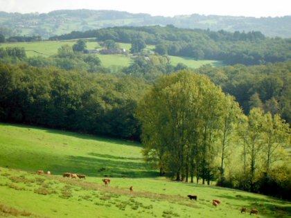 La vue sur la vallée depuis Labrot